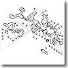 パーツ:02 BB-X EV 3000 アオリイカ ブレーキレバー固定ボルト No72