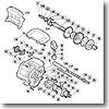 パーツ:00 スーパー小船 C2000 A-RB メインギヤ軸固定板(部品No.034)
