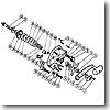 パーツ:チタノス スーパー船 ES4000 スタードラグ座金E(部品No.031)