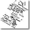 パーツ:チタノス スーパー船 ES5000 本体枠組(部品No.046)