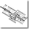 パーツ:チタノス スーパー船 ES6000 スタードラグ組(部品No.006)