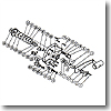 パーツ:チタノス・タナトル小船 EX-3000 スタードラグ座金G(部品No.030)