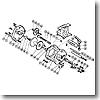 パーツ:チタノス・スーパー小船 EX3000(下使い用) レベルワインド棒(部品No.052)