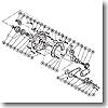 パーツ:TLD 2スピード 20 A-RB ドラグレバー座金 No196