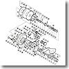 パーツ:ティアグラ 12 A-RB ポールベアリンク 直径7×直径17×5 No066