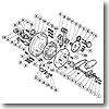 パーツ:ティアグラ 80W A-RB メインギヤ軸座金 No012