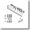 パーツ:ティアグラ 80W A-RB ロッドクランプボルト 付属品 No125