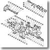 パーツ:デジタナSLS ティアグラ 50WLRS A-RB ドラグレバー当タリ B 部品No.052
