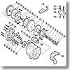 パーツ:デジタナSLS ティアグラ 50WLRS ストッパー固定板ボルト(部品No.088)