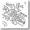 パーツ:スコーピオン メタニウム Mg クラッチレバーガイド No161