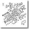 パーツ:スコーピオン メタニウム Mg-L ベアリング押サエ板 No103