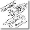 パーツ:スコーピオン メタニウム Mg-L メインギヤ軸 No185