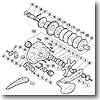 パーツ:オシア ジガー 2000P A-RB クラッチカム No026