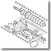 パーツ:03 ジガー EV 2500HG A-RB メインギヤ軸ブッシュ No042