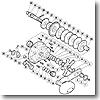 パーツ:03 ジガー EV 3000HG A-RB ハンドル受ケ座金 No005