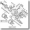 パーツ:03 チヌマチック 1000XT A-RB ローラークラッチインナーチューブ No.014