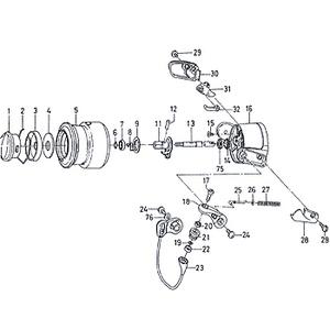 ダイワ(Daiwa) パーツ:SCプレッソ スピニングリール ローターナット No014