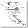 パーツ:スピンマチック X500T ストッパーカムリーフSP No034