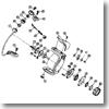 パーツ:スプリンター GL3500糸付 ベールホルダーナット No034