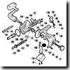 パーツ:98アルテグラ 3000 クロスギヤピン押サエ板固定ボルト No63