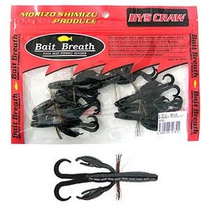 Bait Breath(ベイトブレス) バイズクロー 2.5インチ #140B ブラック/レッド