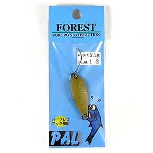 FOREST(フォレスト) PAL(パル) 2.5g 13 ベージュ/赤ラメ