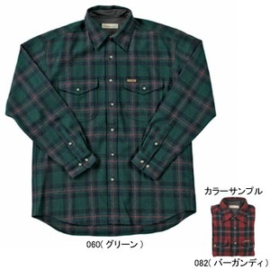 Fox Fire(フォックスファイヤー) ウォッシャブルウールクラシックチェックシャツ M's S 082(バーガンディ)