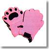 BEARHANDS(ベアーハンズ) ベアハンズ フリースミトン 乳児用 ピンク