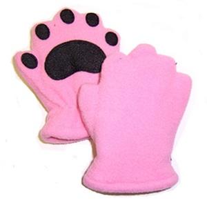 BEARHANDS(ベアーハンズ) ベアハンズ フリースミトン 幼児用 ピンク