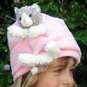 BEARHANDS(ベアーハンズ) ベアハンズ バディマフラー 子供用フリーサイズ キャット(ピンク)