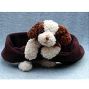 BEARHANDS(ベアーハンズ) ベアハンズ バディマフラー 子供用フリーサイズ ドッグ(ブラウン)