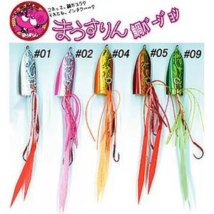 DAMIKI JAPAN(ダミキジャパン) まうすりん鯛バージョン 40g #02 ホロ/ピンク