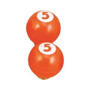 GIZA(ギザ) ビリヤード No.5 オレンジ