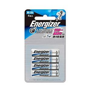 Energizer(エナジャイザー) リチウム乾電池単四 4本入