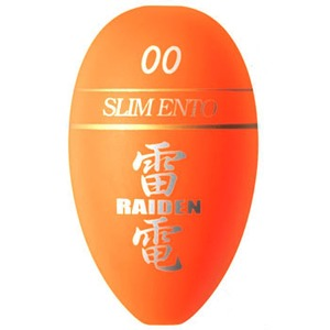 Golden Mean(ゴールデンミーン) 雷電 宮川ウキ スリム遠投 00 オレンジ