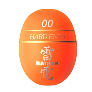 Golden Mean(ゴールデンミーン) 雷電 宮川ウキ ハード遠投 00 オレンジ