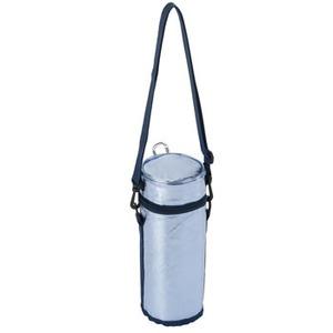 BUNDOK(バンドック) ペットボトルクーラー 500ml ブルーシルバー
