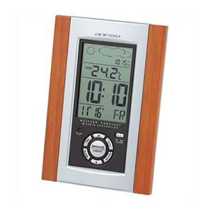 ADESSO(アデッソ) 電波時計(天気予報機能付き) C-8210SV