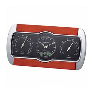 ADESSO(アデッソ) 温湿度電波クロック C-8271