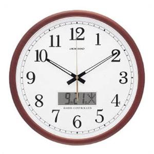 ADESSO(アデッソ) 電波掛時計 AD-403M ホワイト