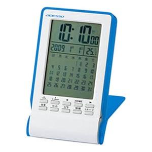 ADESSO(アデッソ) カレンダー電波時計 TSB-445BL