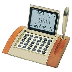 ADESSO(アデッソ) カレンダーワールド電卓クロック AQ-360