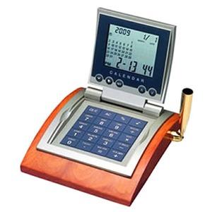 ADESSO(アデッソ) カレンダーワールド電卓クロック AQ-243TP