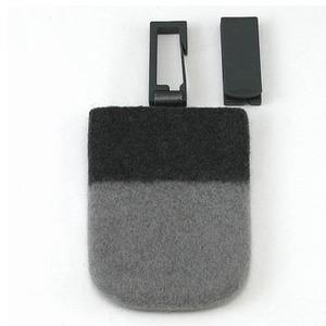 ABITAX(アビタックス) Pocket L チャコールグレー&ライトグレー