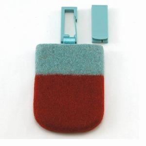ABITAX(アビタックス) Pocket L パステルブルー&パプリカ