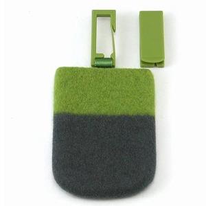 ABITAX(アビタックス) Pocket S パステルグリーン&グレー