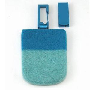 ABITAX(アビタックス) Pocket S ターコイズ&パウダーブルー
