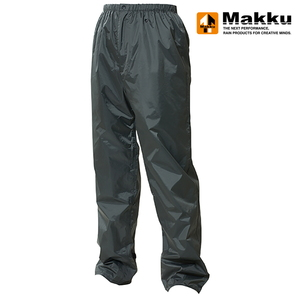 マック(Makku) レイントラックパンツ EL ダークグレー