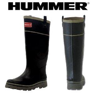 HUMMER(ハマー) ラバーブーツ メンズ M ブラック