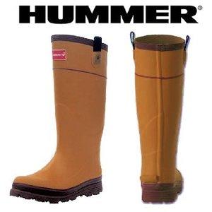 HUMMER(ハマー) ラバーブーツ メンズ S オーク
